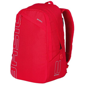 Basil Flex Bicycle Backpack 17l, signal red